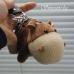 Хипопотамче - плюшен сувенир - ключодържател