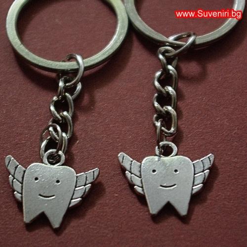 Летящи зъбчета - двоен ключодържател