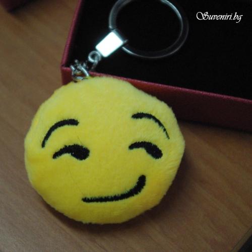 EMOJI - ключодържател с емоционално личице