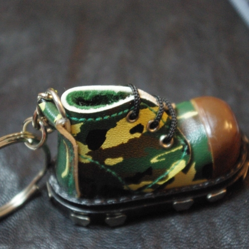 Кубинка - кожен ключодържател