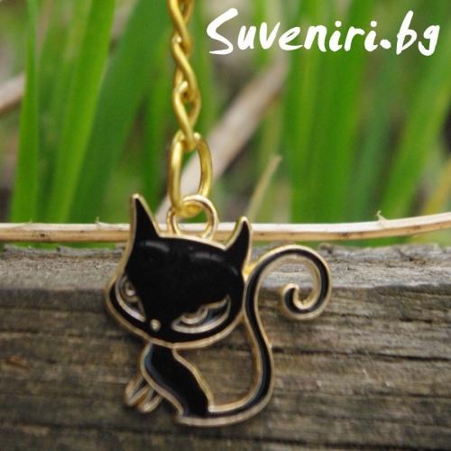 Котенце - метален сувенир, подходящ за подарък
