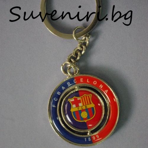 Барселона - метален сувенир, който се върти