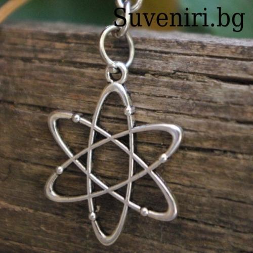 Атом - метален сувенир
