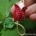Роза - луксозен сувенир в златист цвят