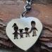 Сърчице с членовете на семейството
