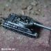 Танк - метален ключодържател с умалена форма