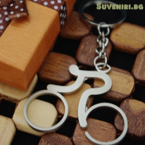 Велосипед - метален ключодържател, сувенир