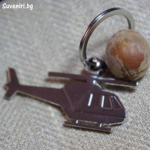 Вертолет - метален сувенир