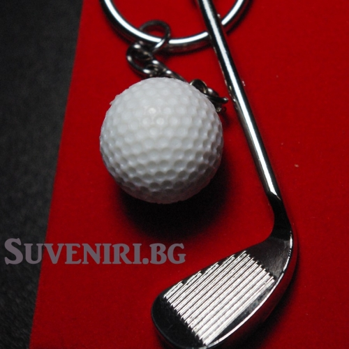 Стик за голф и топка