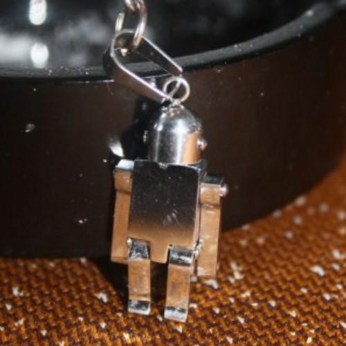 Метален сувенир, робот  с движещи се части