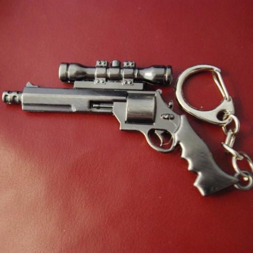 Метален пистолет със снайпер - ключодържател
