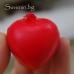 Гумено сърчице - антистрес ключодържател
