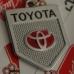 Масивен ключодържател за Тойота - с две лица