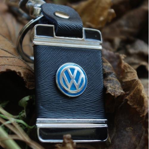 Автомобилен ключодържател от кожа с едно лице за VW