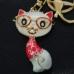 Коте - луксозен сувенир в златист цвят