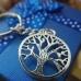 Метален ключодържател - дървото на живота